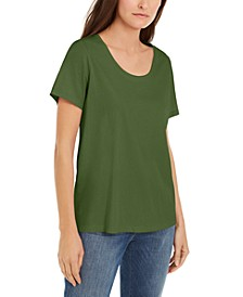 Organic Cotton Scoop-Neck T-Shirt