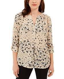 Maria Floral-Print Blouse, Created for Macy's