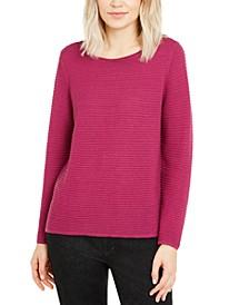 Ottoman-Rib Sweater