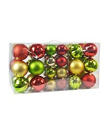 Christmas Ornament Set, 40 Piece