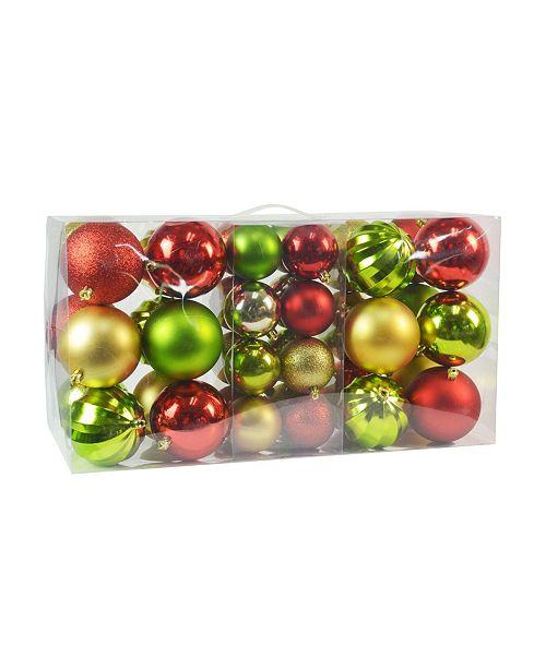 Jeco Christmas Ornament Set, 40 Piece