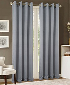 "Akron Textured Jacquard 54"" x 90"" Curtain Panel"