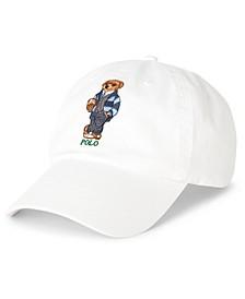 Men's Preppy Bear Chino Cap