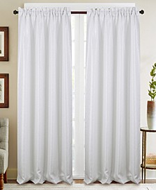 "Naples Textured Jacquard 53"" x 84"" Curtain Panel"