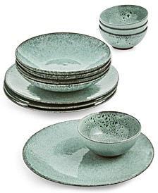 Pacific Tide 12-Pc. Dinnerware Set, Service for 4