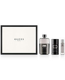 Men's 3-Pc. Guilty Pour Homme Gift Set