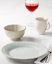 Lenox French Perle Groove Dinnerware Collection