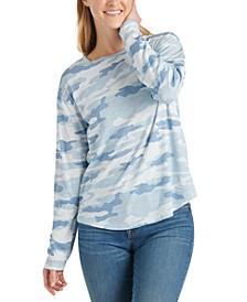 Cotton Camo-Print T-Shirt