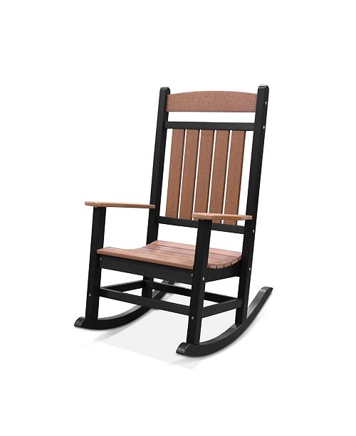 Furniture Classic Two-Toned Rocker
