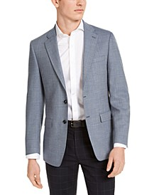 Mens Slim-Fit Wool Sport Coat
