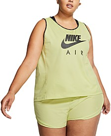 Plus Size Air Running Tank Top