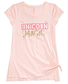 Big Girls Unicorn & Mermaid Magic T-Shirt, Created for Macy's