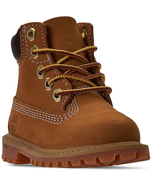 """Timberland Toddler Boys' 6"""" Classic Boots from Finish Line"""