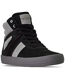 Men's Moretti High Top Casual Athletic Sneakers from Finish Line