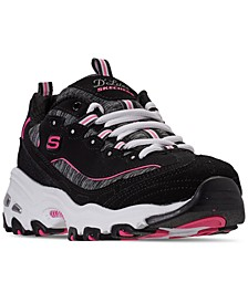 Women's D'Lites Me Time Casual Sneakers from Finish Line