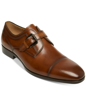 Mens Retro Shoes | Vintage Shoes & Boots Steve Madden Mens Covet Single Monk Strap Shoes Mens Shoes $125.00 AT vintagedancer.com