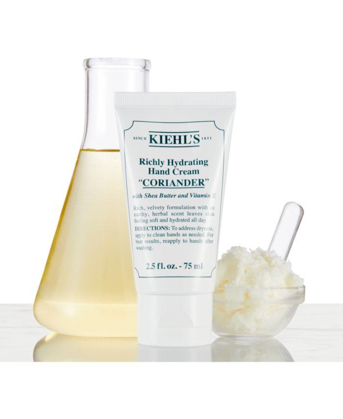Kiehl's Since 1851 Richly Hydrating Hand Cream - Coriander, 2.5-oz. & Reviews - Shop All Brands - Beauty - Macy's