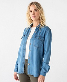 Thread Supply Chambray Shirt Jacket