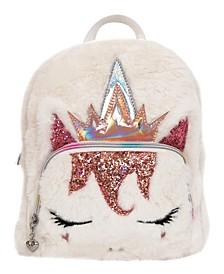 Queen Miss Gwen Plush Unicorn Mini Backpack