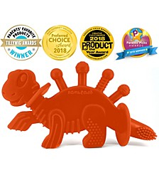 Dibly the Dino-Sore-No-MoreBaby Teether Toy and Training Toothbrush