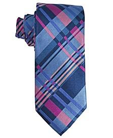 Men's Plaid Silk Tie