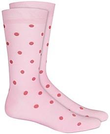 Men's Polka Dot Socks, Created for Macy's