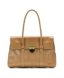 Heritage Vienna Leather Satchel