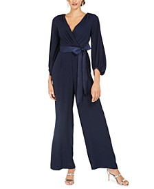 Tie-Belted Jumpsuit