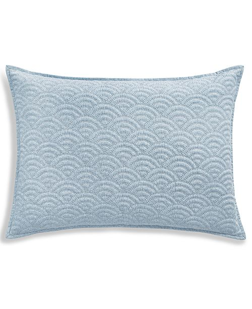 Hotel Collection Petal Quilted Standard Sham, Created for Macy's