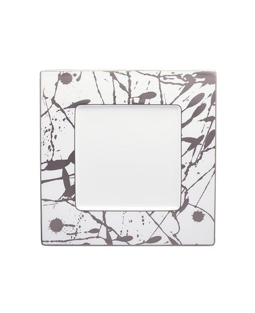 Noritake Raptures Platinum Square Plate
