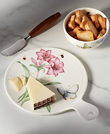 Butterfly Meadow Kitchen Red Cheese Board, Created for Macy's