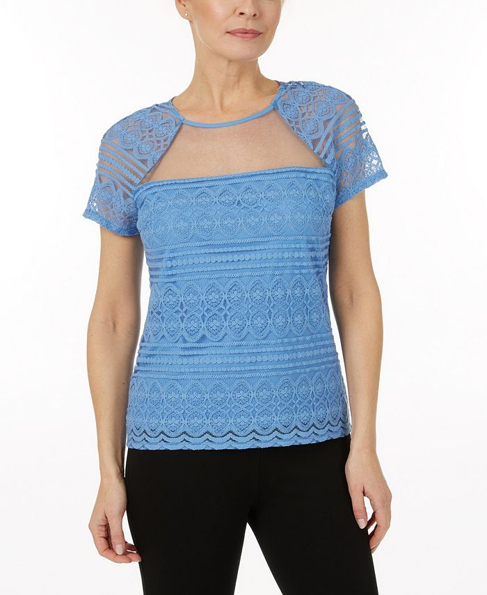Laundry by Shelli Segal - Lace Top