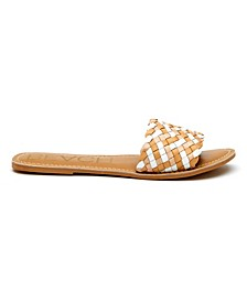 Coconuts By Matisse Saltwater Woven Flat Sandal