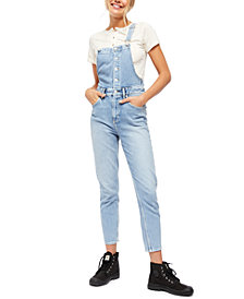 Free People Shelby Denim Overalls