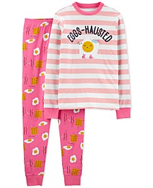 Women's 2-Pc. Cotton Breakfast Pajamas Set