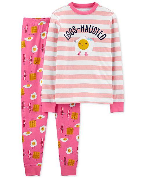 Carter's Women's 2-Pc. Cotton Breakfast Pajamas Set