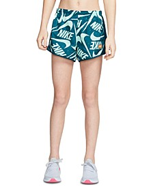 Big Girls Dri-FIT Tempo Printed Running Shorts