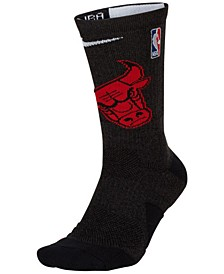 Men's Chicago Bulls Elite Team Crew Socks