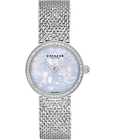 Women's Hayley Stainless Steel Mesh Bracelet Watch 27mm