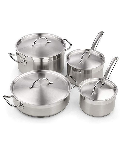 Cooks Standard Professional Cookware Set 8 Piece