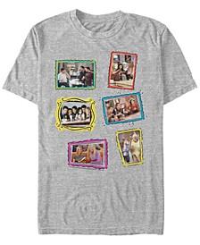 Friends Men's Picture Frame Scenes Short Sleeve T-Shirt