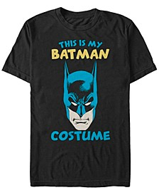 DC Men's This Is My Batman Costume Short Sleeve T-Shirt