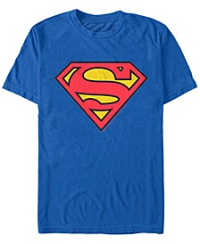 DC Men's Superman Classic Logo Short Sleeve T-Shirt