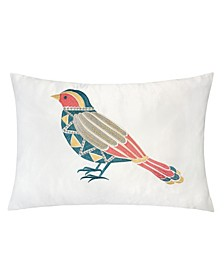 Quinn Embroidery Rectangle Decorative Throw Pillow