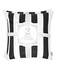 Olivia Stripe Outdoor Pillow - Set of 2