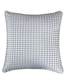 Tessa Jacquard Square Decorative Throw Pillow