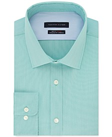 Men's Athletic-Fit Flex Collar Dress Shirt