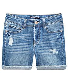 Imperial Star Big Girls Ripped Denim Shorts