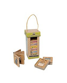Melissa Doug Children's Book - Natural Play Book Tower: Little Learning Books