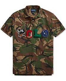 Men's Custom Slim Fit Camo Polo